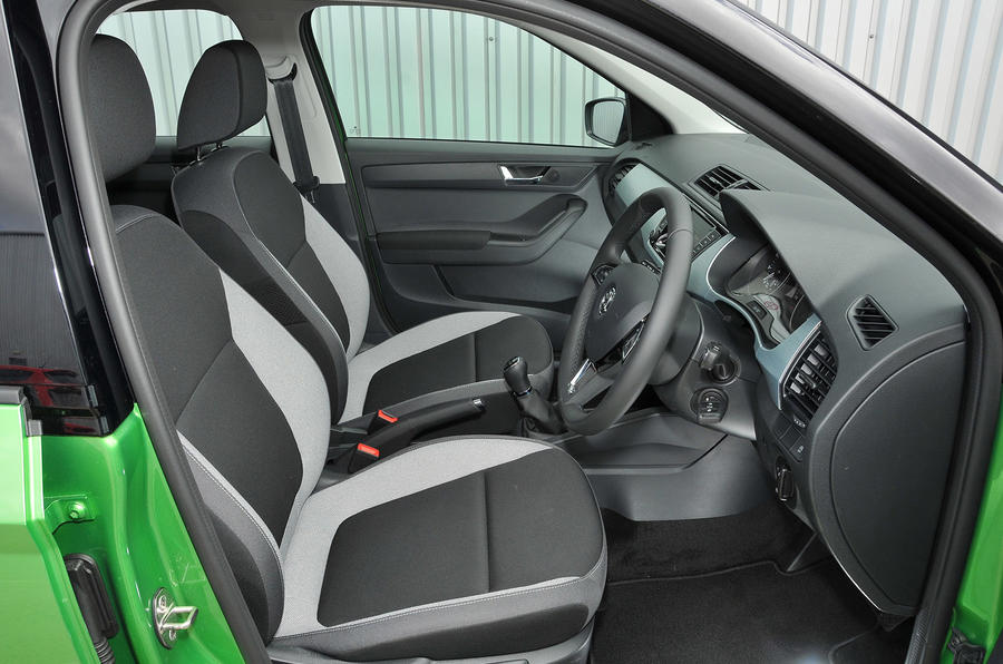 Skoda Fabia Colour Edition interior