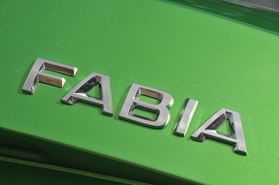 Skoda Fabia badging