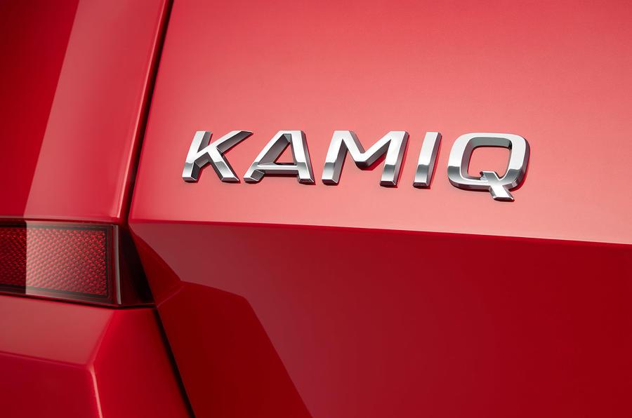 Skoda Kamiq 2019 name confirmation