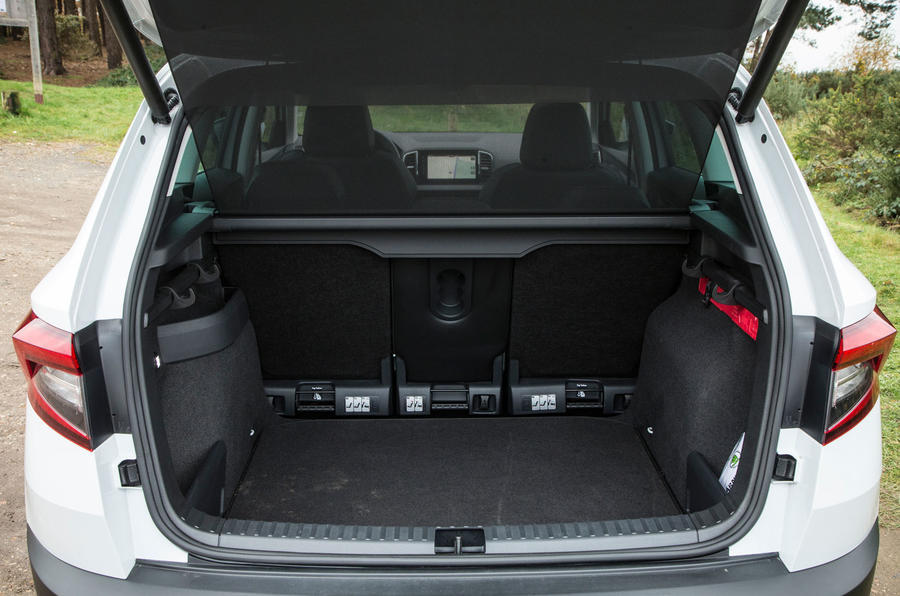 Skoda Karoq 1.5 TSI boot space