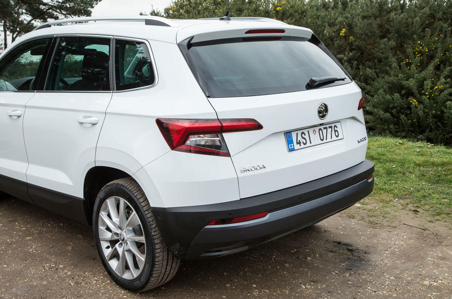 Skoda Karoq 1.5 TSI rear end