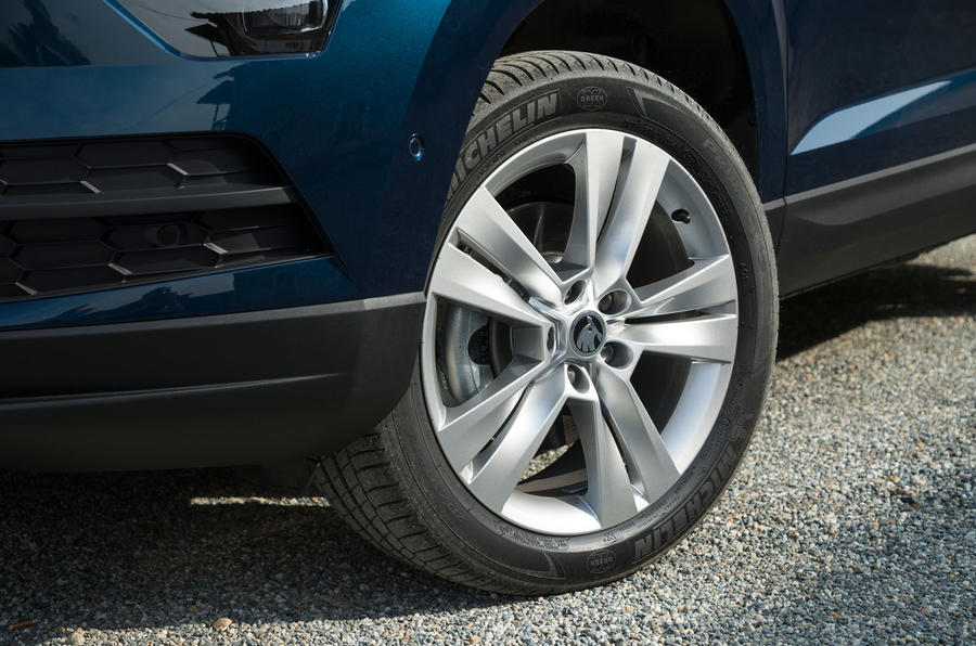 Skoda Karoq alloy wheels