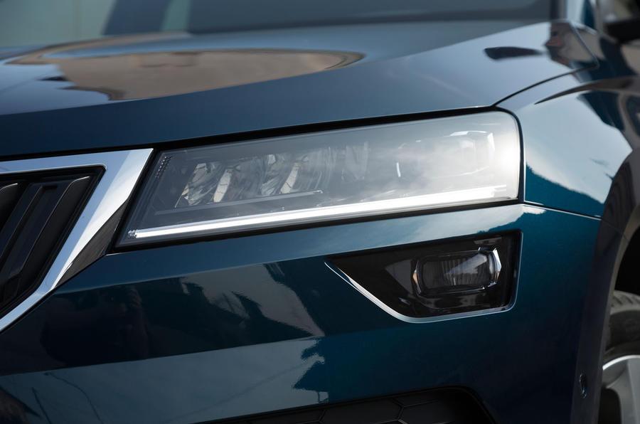 Skoda Karoq LED headlights