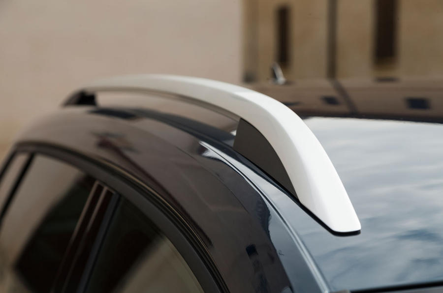 Skoda Karoq roof rails