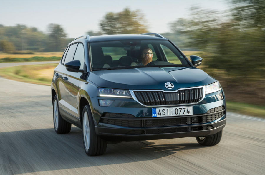 skoda karoq 2017 review autocar. Black Bedroom Furniture Sets. Home Design Ideas