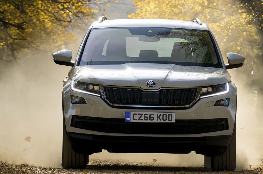 2017 skoda kodiaq 1 4 tsi 125 se review autocar. Black Bedroom Furniture Sets. Home Design Ideas