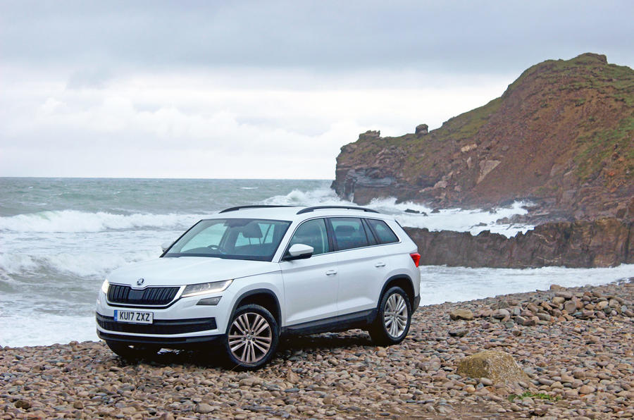 Skoda Kodiaq longterm review beach