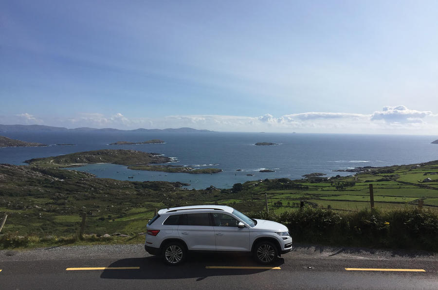 Skoda Kodiaq longterm review view