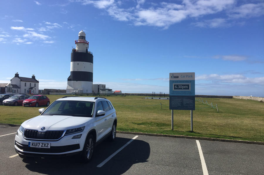 On holiday with the Skoda Kodiaq