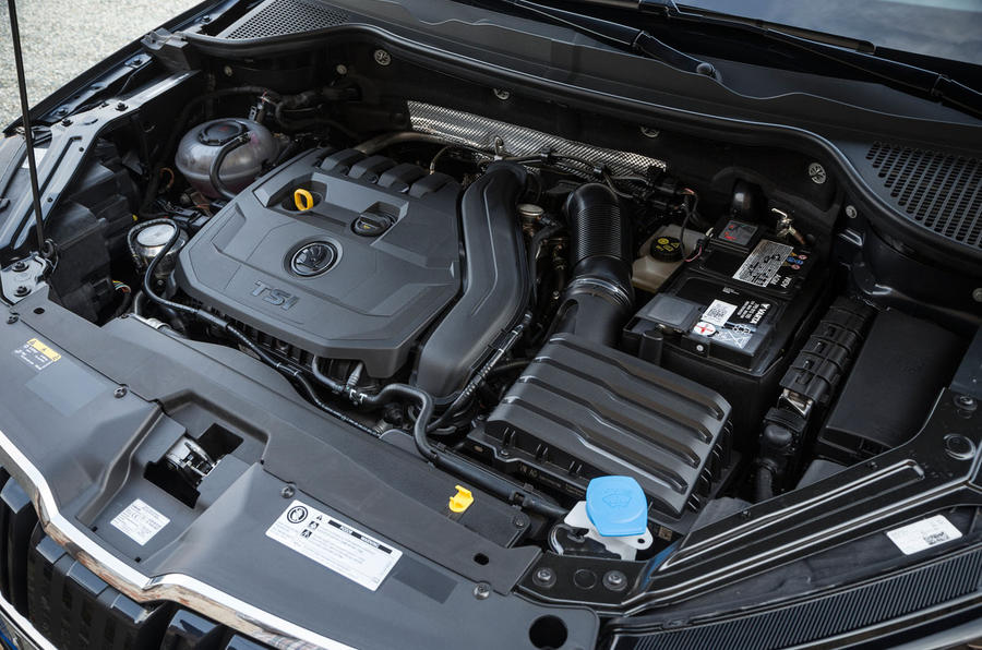 Skoda Kodiaq TSI petrol engine