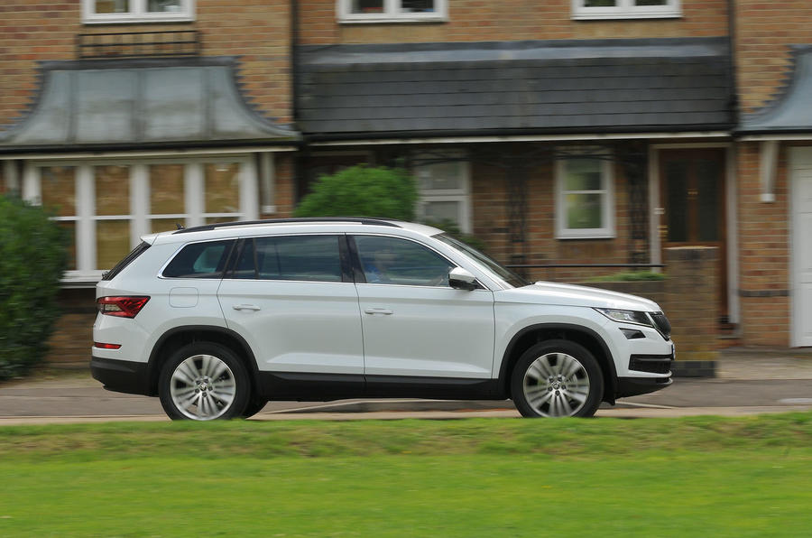 Skoda Kodiaq side profile