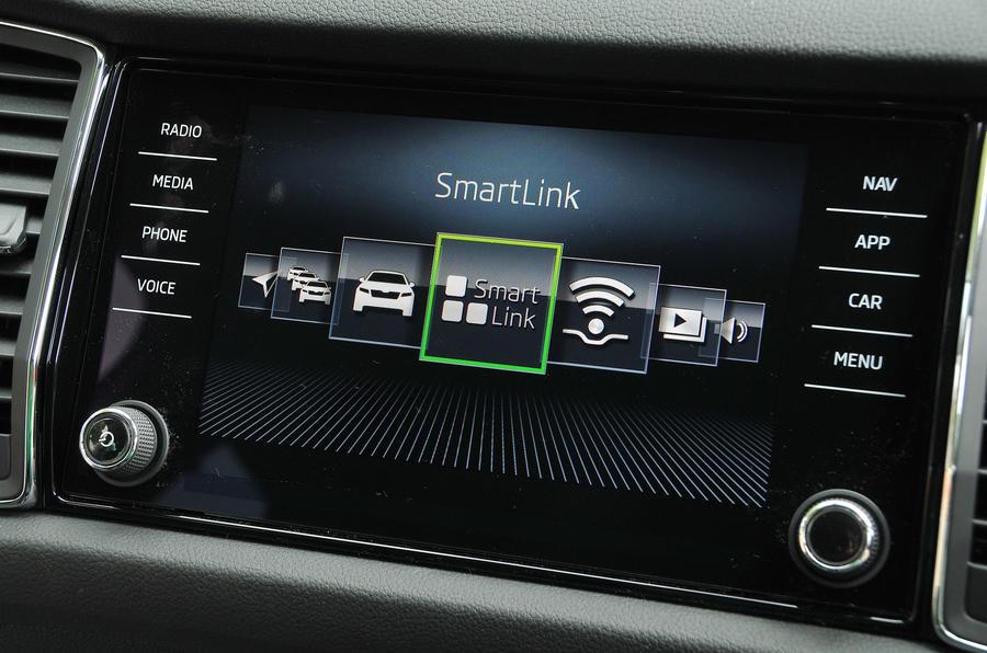 Skoda Kodiaq Smartlink system