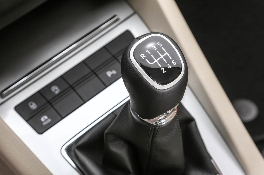 Six-speed Skoda Octavia manual gearbox