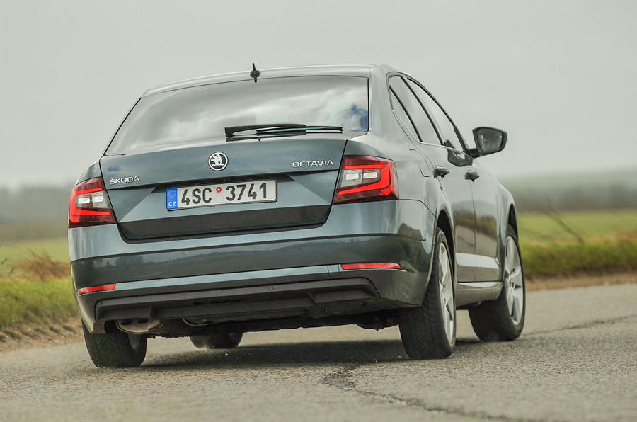 Skoda Octavia Rear Dynamic