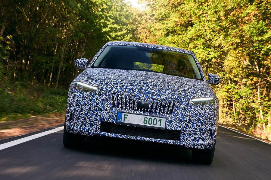 Skoda Scala 2018 Prototype Review Autocar