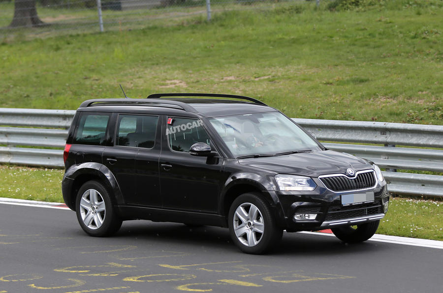 2016 Skoda SUV spy pictures
