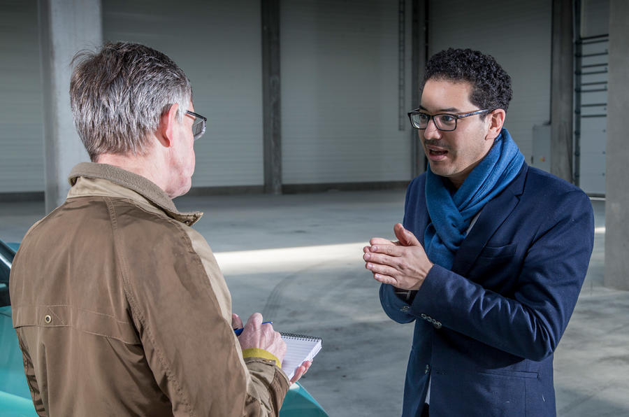 Discussing the Skoda Vision S