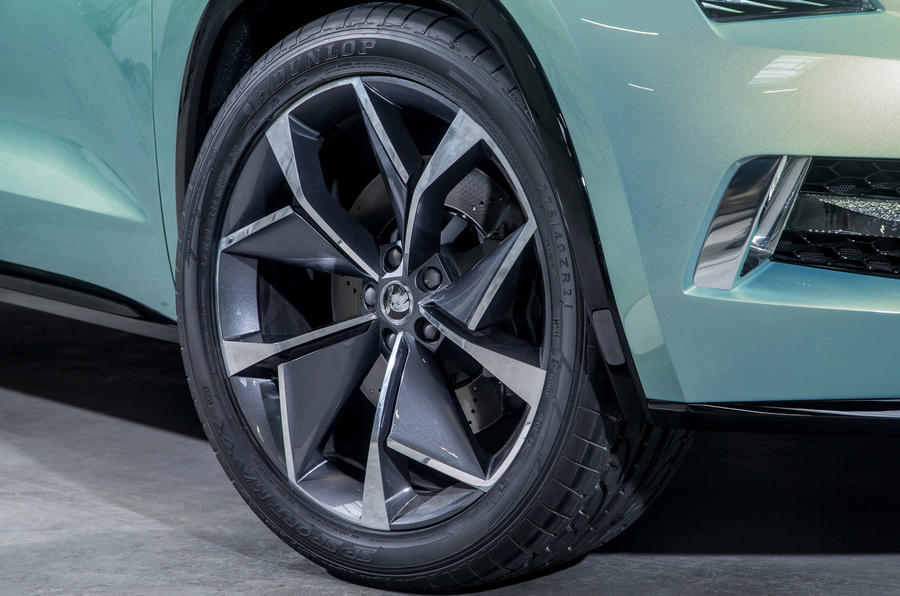19in Skoda Vision S alloys