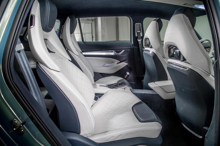 Skoda Vision S rear seats