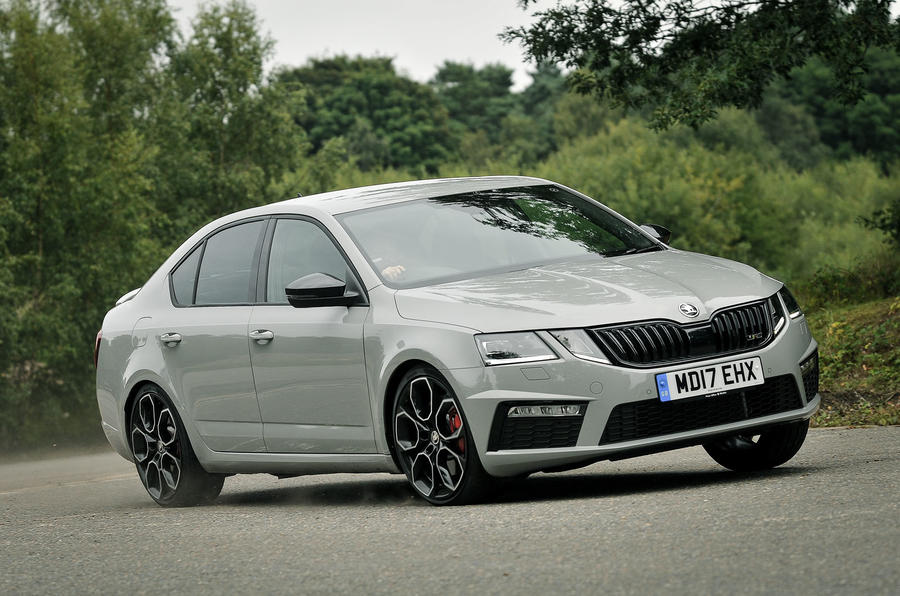 skoda octavia vrs 245 dsg 2017 review autocar. Black Bedroom Furniture Sets. Home Design Ideas
