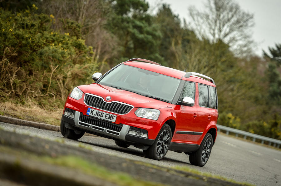 skoda yeti 2 0 tdi 150 outdoor se l drive 4x4 2017 review autocar. Black Bedroom Furniture Sets. Home Design Ideas