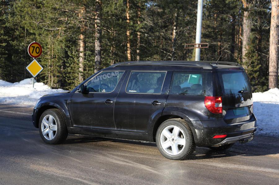 2016 Skoda SUV spy pictures