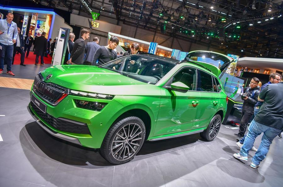2019 Geneva motor show - Skoda Kamiq