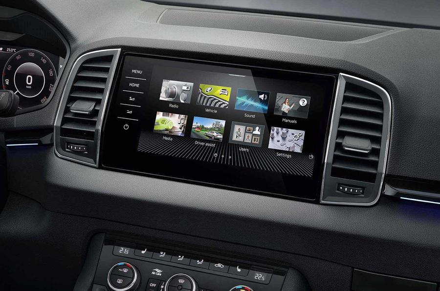 Skoda updates touchscreen