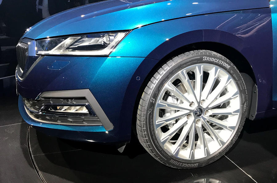 Skoda Octavia 2020 official launch - alloy wheels