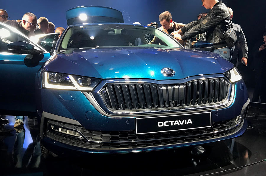 Skoda Octavia 2020 official launch - front grille