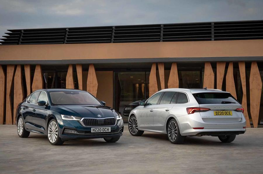 Skoda Octavia estate and hatch