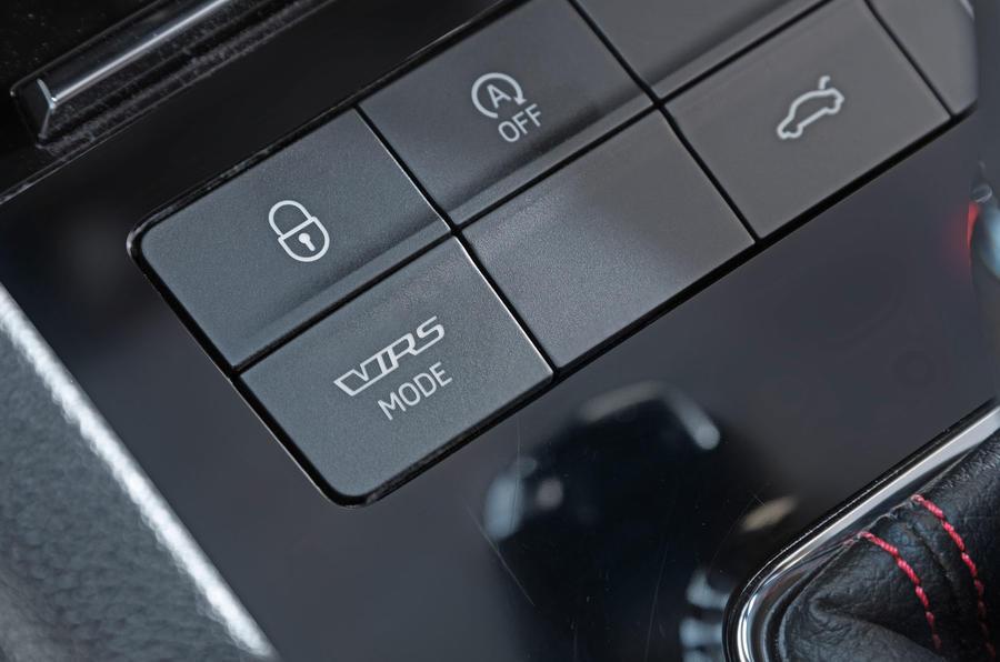 Skoda Octavia vRS driving mode