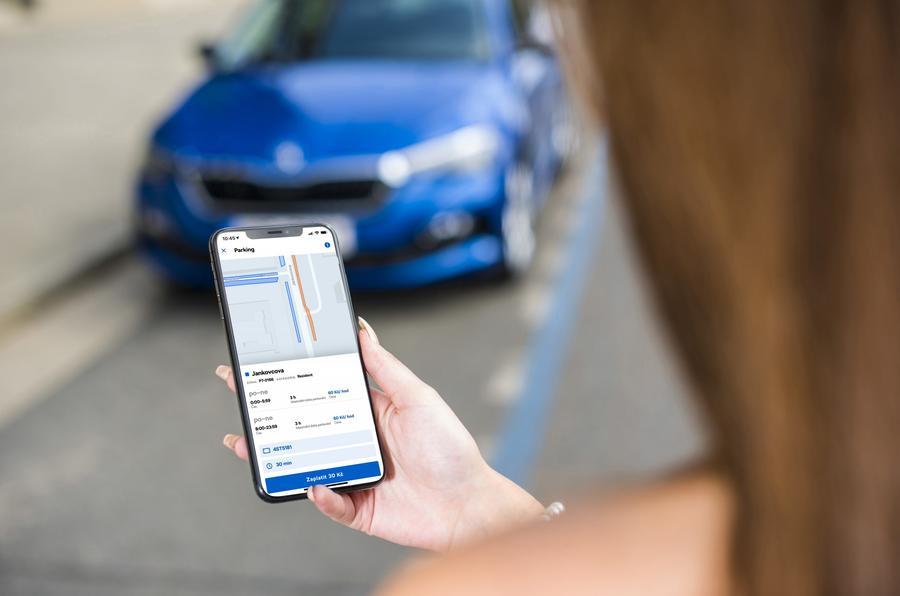 Skoda mobility app