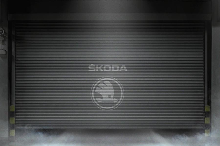 Skoda garage door teaser