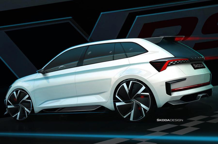 Skoda Rapid 2019 >> Skoda Vision RS concept previews performance plug-in hybrid   Autocar