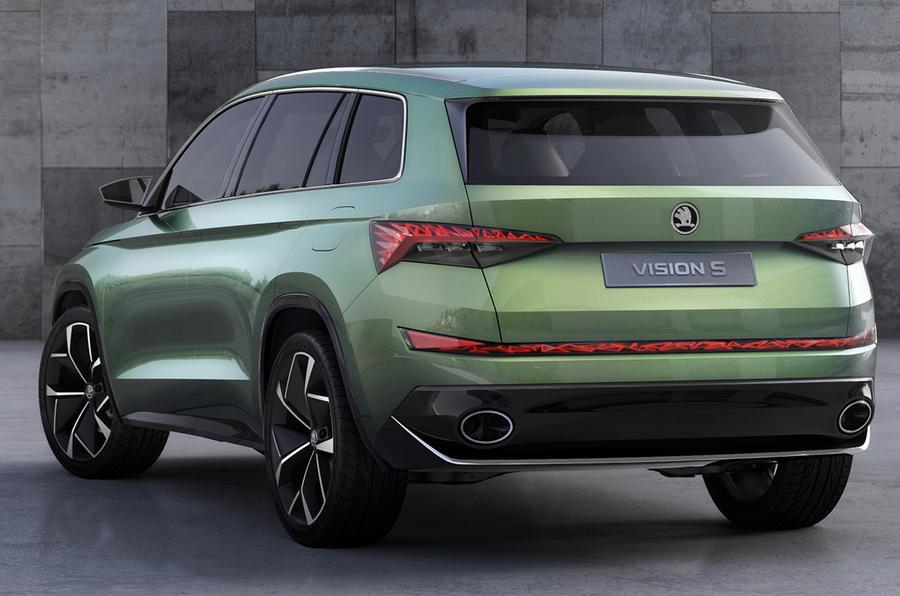 Car Full Form >> Skoda VisionS concept previews 'Kodiaq' SUV | Autocar