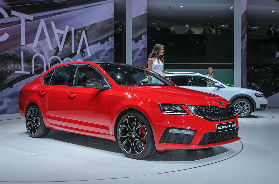 most powerful skoda octavia vrs 245 revealed in geneva autocar. Black Bedroom Furniture Sets. Home Design Ideas