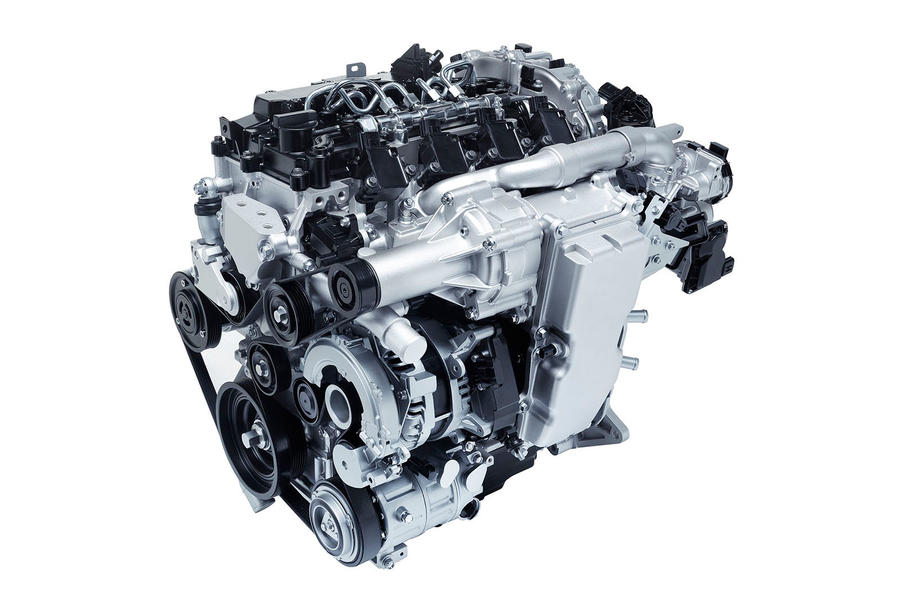 Mazda SkyActiv-X petrol-compression engine
