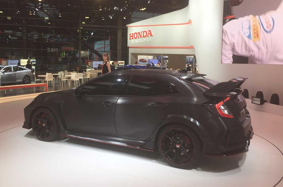 New Honda Civic Type R concept revealed at Paris motor show