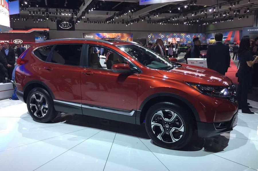New Honda CR-V revealed, but UK sales on hold until 2017