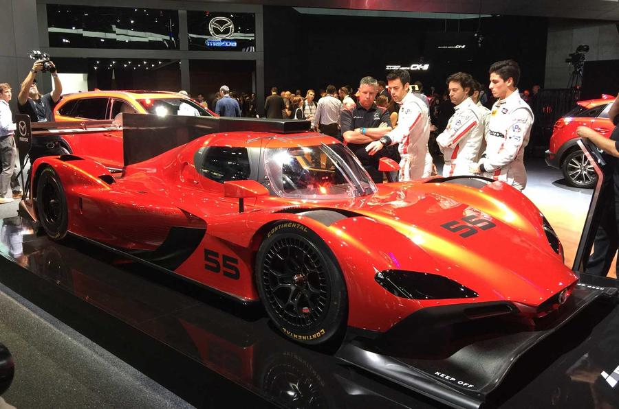 World Car Mazda >> Mazda RT24-P 600bhp prototype racer revealed in LA | Autocar