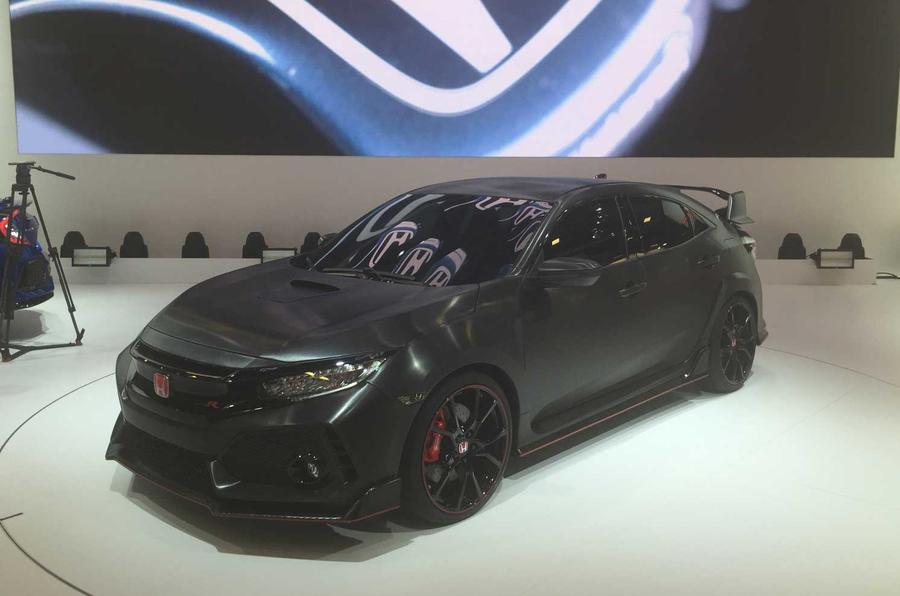 2017 Honda Civic Type R to be launched at Geneva motor show | Autocar