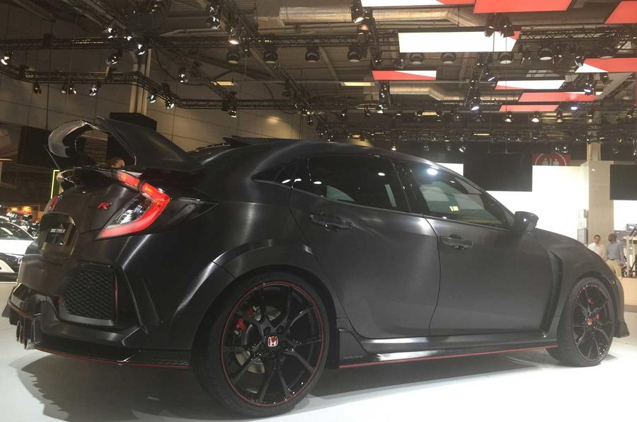 2017 honda civic type r to be launched at geneva motor show autocar