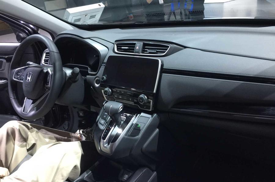 New Honda CR-V interior