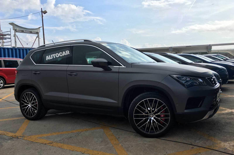 Hot Seat Ateca Cupra sighting suggests 300bhp model is on way