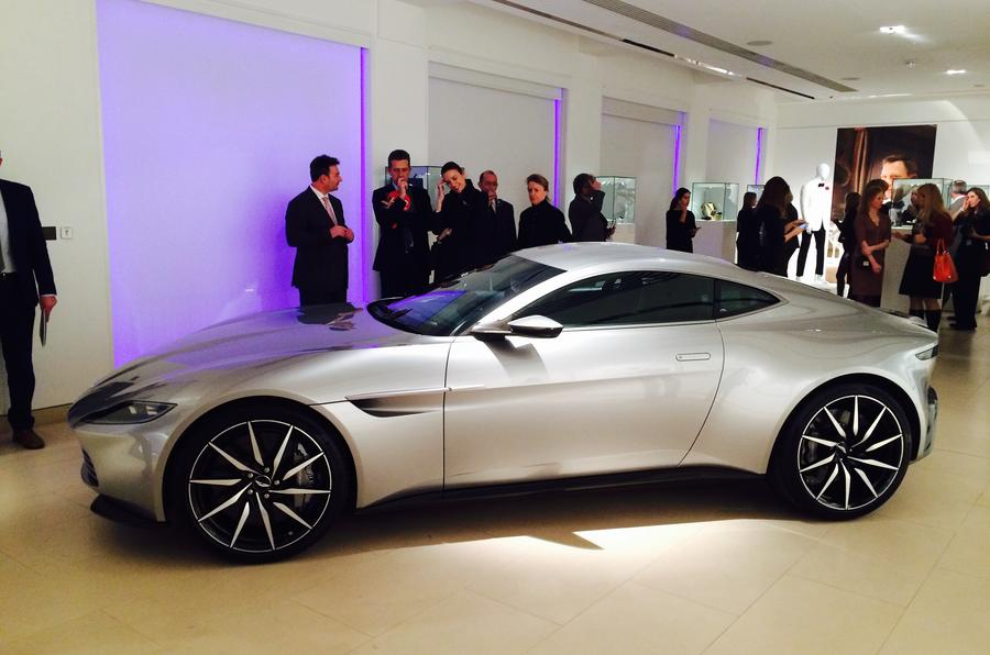 James Bond 007 auction Aston Martin DB10
