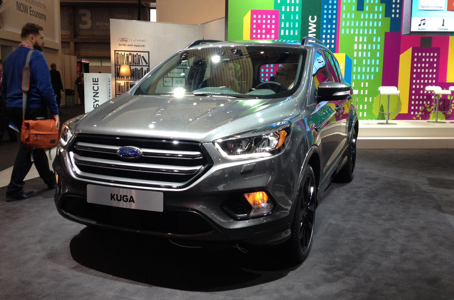 2016 ford kuga facelift on sale now costing from 20 845 autocar. Black Bedroom Furniture Sets. Home Design Ideas