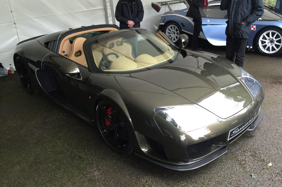 Noble Speedster 2016 Goodwood Festival of Speed