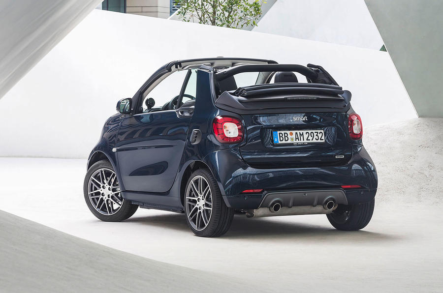 smart fortwo and forfour brabus models now on sale autocar. Black Bedroom Furniture Sets. Home Design Ideas
