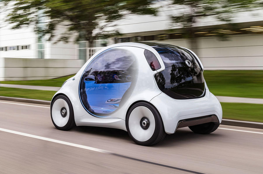 Smart Vision Eq Claims To Be Electric City Car Of Future